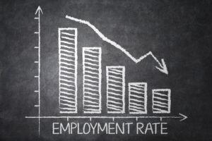 失業率低下
