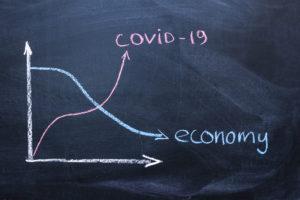 コロナショックによる世界経済悪化