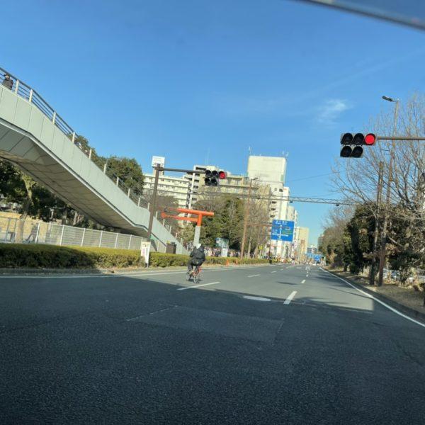 六郷大橋方面