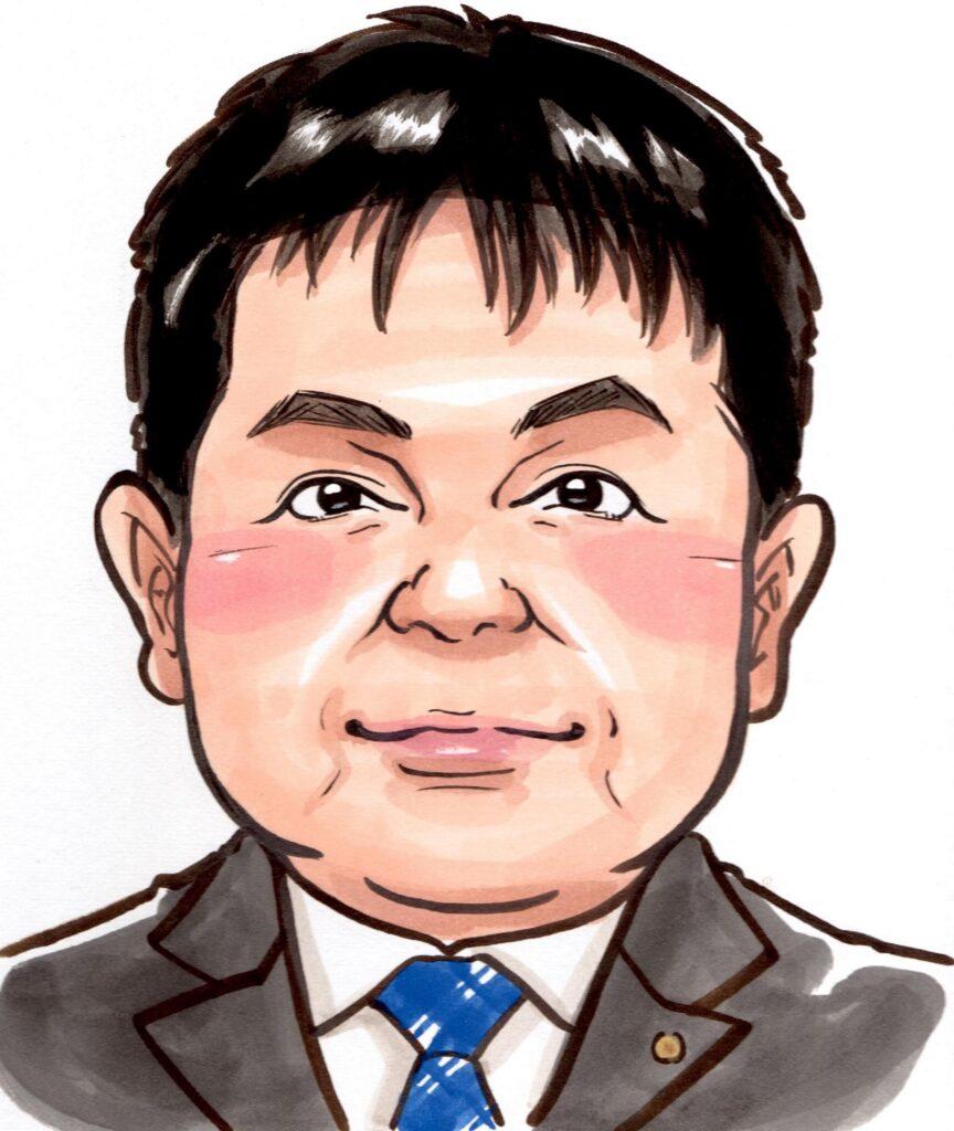 似顔絵(2020年開業当初)